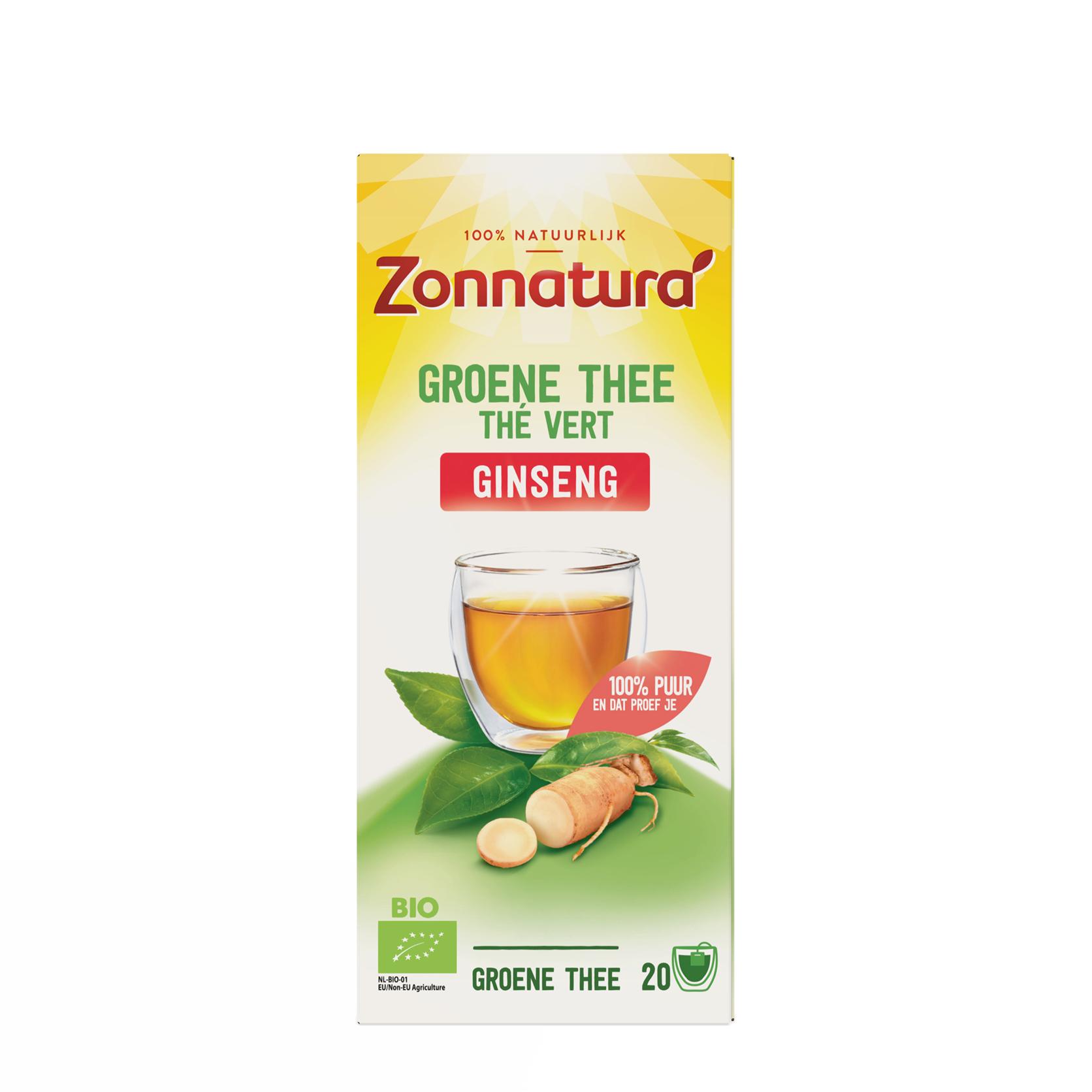 Groene Thee Ginseng