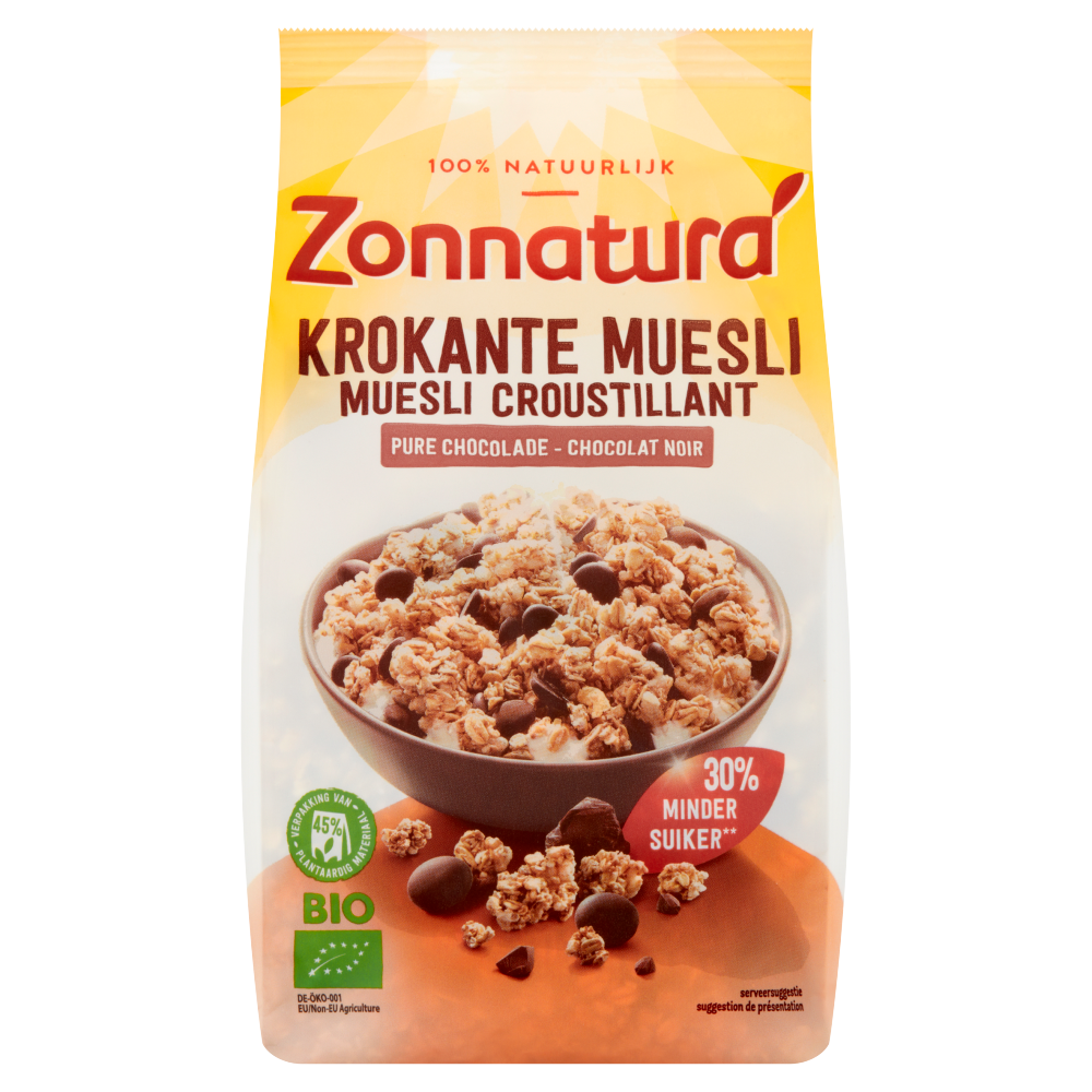 Krokante Muesli Chocolade
